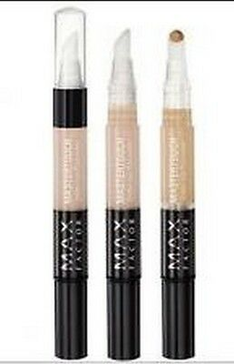Max Factor Mastertouch Under - Eye  Concealer Pen Choose Your Shade  New