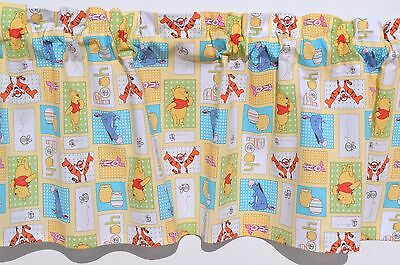 New Winnie The Pooh Tigger Window Curtain Topper Valance Nursery Kids Toddler