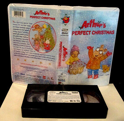 Arthurs Perfect Christmas.Arthurs Perfect Christmas Vhs 2000 Clamshell Sony Music
