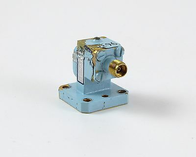 Maury Microwave 200A1 Waveguide to Coax 3.4mm Adapter - WR-42, 18-26.5 Ghz