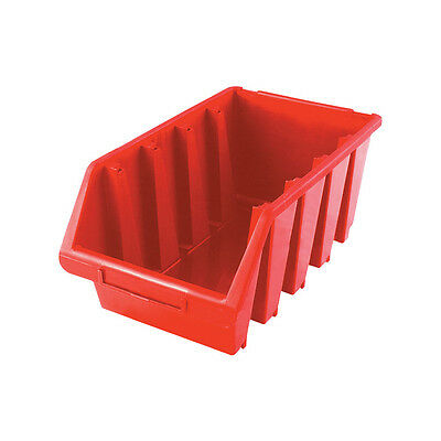 Matlock Mtl4 Hd Plastic Storage Bin Red
