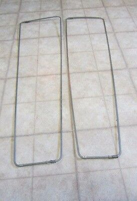Vintage Metal Pant Stretchers, 36 in. Long, 10 in. to 17 1/2 in. Wide at Top