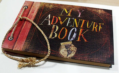 My Adventure Book DIY Photo Album Our Adventure Book Anniversary Scrapbook