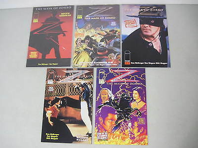 COMPLETE SET OF THE MASK OF ZORRO #1-4 IMAGE COMICS DON McGREGOR & RON WAGNER