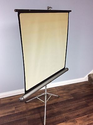 Tower 40 X 40 Vintage Projector Screen Very Nice
