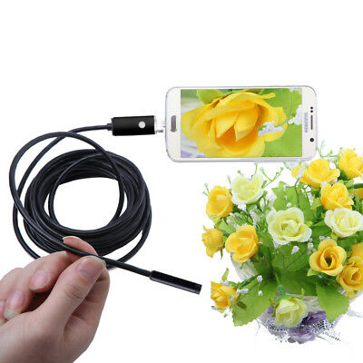 2in1 OTG Micro USB Endoscope Inspection Camera Borescope Tube Probe IP67 BI565