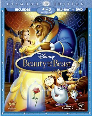 Beauty and the Beast (Blu-ray + DVD, with Blu-ray Packaging) - DVD  UAVG The