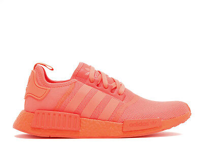 99eaa3555508e ADIDAS NMD R1 Triple Solar Red Boost S31507 Men Size 7.5-13 ...