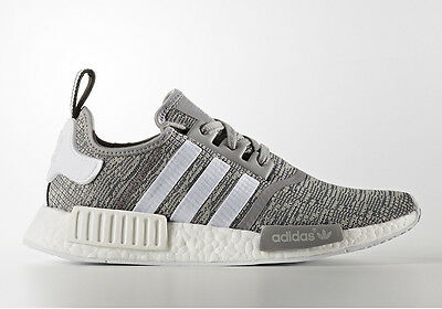 buy online 9884f a369a Adidas NMD Runner R1 Glitch Solid Grey White BB2886 Men size 8-13