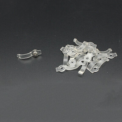 Lots of 8/10mm LED Strip Clip Mounting Bracket Fixing For waterproof LED Strip