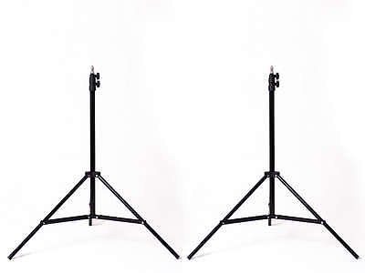 Light Stands x 2 Photography Studio Photo Video 1.9m 190cm stand good quality UK