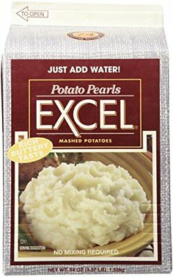 Potato Pearls Excel Mashed Potatoes - 3.37 lb.