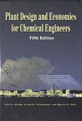 Max Peters PLANT DESIGN & ECONOMICS for CHEMICAL ENGINEERS 5th Ed
