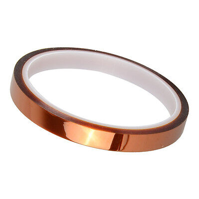 8mm x 30m 100ft Kapton Tape BGA High Temperature Heat Resistant Polyimide CA