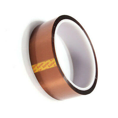 30mm 100ft Kapton Tape Resistant High Temperature PCB BGA Wave Soldering CA