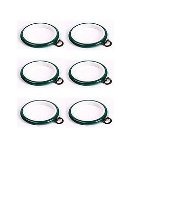 Green Flexi Hoop 8 cm 3 inch cross stitch /sewing / display frame pack of 6