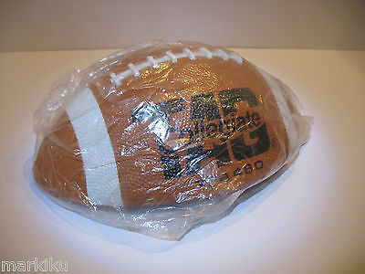 HTF New old stock Tag Collegiate rubber Football  TFB460 Official size
