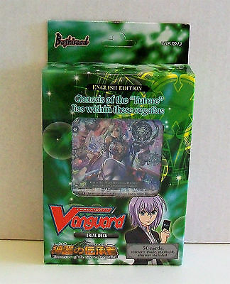 VANGUARD CARDFIGHT Successor Of The Sacred Regalia 50 Card Trial Deck VGE-TD13