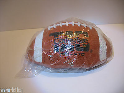 HTF New old stock Tag Collegiate rubber Football  TFB-470 Official size