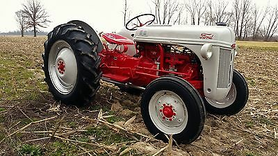 Restored Ford 8N Tractor