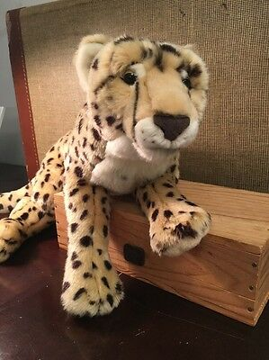 FAO Schwarz 24 inch Plush Cheetah Toys R Us Soft and Realistic #383