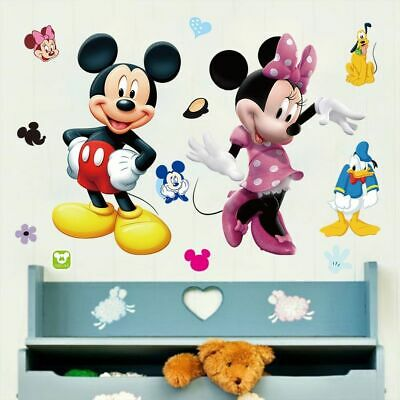 mickey maus disney kinder wandsticker wandtattoo aufkleber sticker kinderzimmer eur 12 99. Black Bedroom Furniture Sets. Home Design Ideas