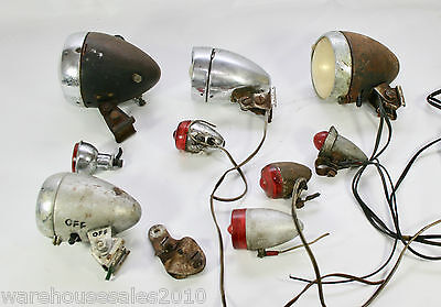 Mixed Lot of Vintage Dynamo Lights