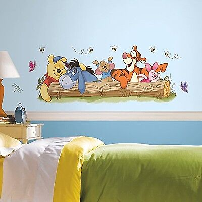 "RoomMates ""Disney Winnie the Pooh and Friends Mural"" Wall Sticker"