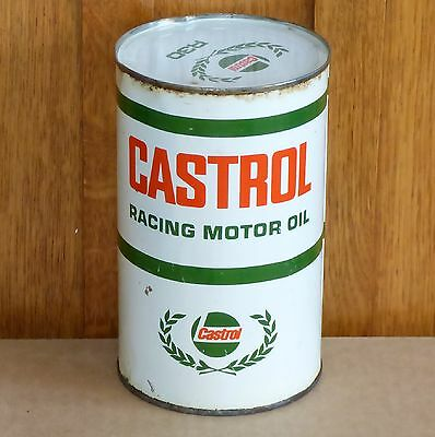 Rare full Canadian CASTROL R30 1 Imp. Qt RACING motor oil tin can FREE SHIPPING!