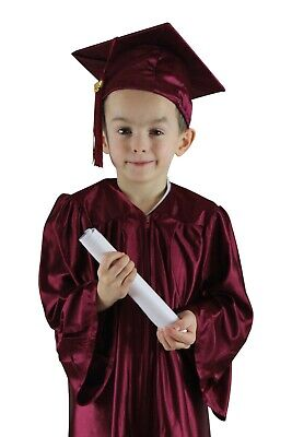 Childrens Graduation Cap and Gown