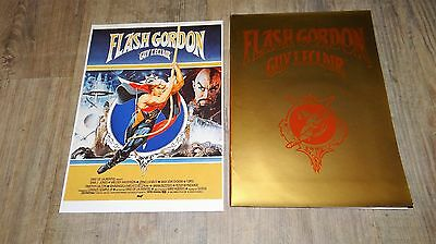 FLASH GORDON ! ornella muti rare dossier presse cinema comics bd 1979 + disque !