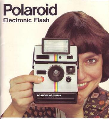 Polaroid Electronic Flash Bedienungsanleitung