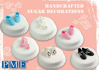 PME Cake Handcrafted Edible Shoe Sugar Sugarcraft Decorations - Various Designs