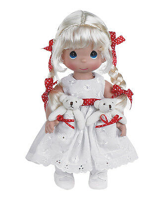 Precious Moments Doll New 12 inch Blonde Pocket Pal Precious Moments Doll