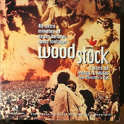 Woodstock / Widescreen  Laserdisc Boxset - Buy 6 for free shipping