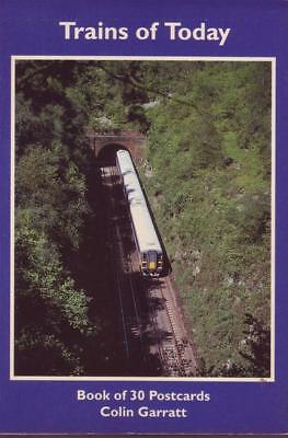 Colin Garratt Trains of Today - Book of 30 Postcards