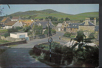 Scotland Postcard - View of Garvald Village, East Lothian    C1194
