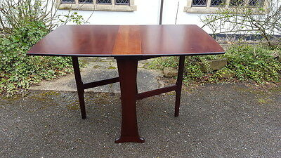 A Really Stylish Retro Mid Century Gateleg Extending Dining Table Great Shape