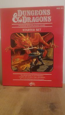 dungeons & and dragons  starter set Fantasy roleplaying game box 4th edition