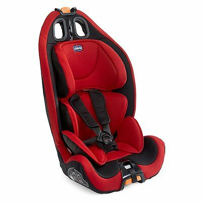 Silla Coche Bebe Chicco Gro-Up 123 Color Rojo Grupo 1 2 3 Peso 9-36 Kg