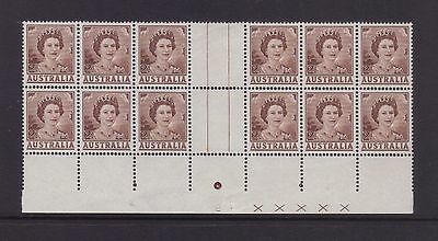 ACSC 348zc; 2d QEII Plate No2 Block of 12.***Rare***