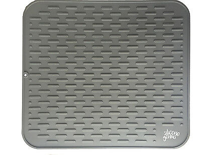 Large Silicone Premium Dish Drying Mat & Counter Protector