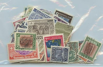 GUATEMALA--Accumulation of 111 stamps