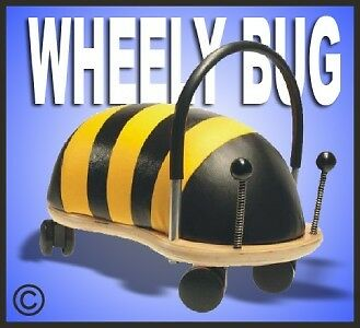 *NEW* ORIGINAL SMALL WHEELY BUG BEE Toddler Ride-On Toy