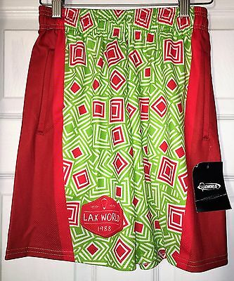 LAX World Lacrosse Youth Boys Girls Shorts Boxes Large & XL NEW