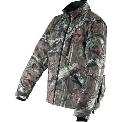 Makita Men's Large Mossy Oak Camo 18-Volt LXT Lithium-Ion Cordless Heated Jacket
