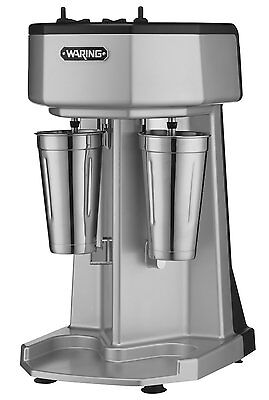 Waring Commercial WDM240 Heavy Duty Diecast Metal Double Spindle Drink Mixer