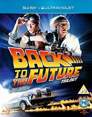 Back to the Future Trilogy [Blu-ray] [1985] [Region Free] - DVD  0YVG The Cheap