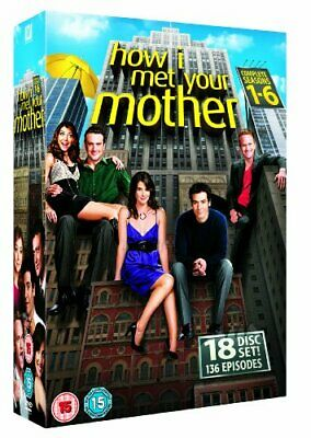 How I Met Your Mother - Season 1-6 [DVD] - DVD  BWVG The Cheap Fast Free Post