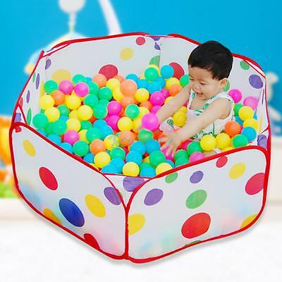 Portable Kid Outdoor Indoor Play Game Ocean Ball Pit Pool Children Toy Tent 1.2M